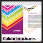 colour brochures